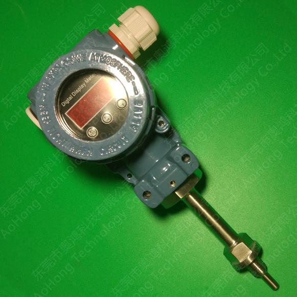 PT100一体式数显温度变送器