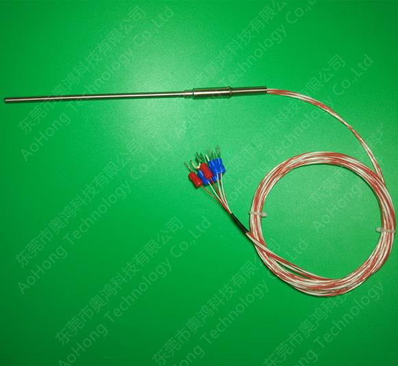 铠装丝PT1000温度传感器